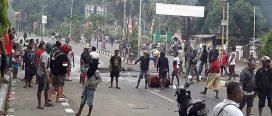हिंसात्मक प्रदर्शन रोक्न इन्डोनेसियामा सयौं सुरक्षाकर्मी परिचालन