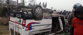 सुनसरीको सिमरियामा दुर्घटना, तीन जनाको मृत्यु