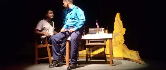 विराटनगरको आरोहण गुरुकुलमा नाटक 'सन्ध्या' मञ्चन हुँदै