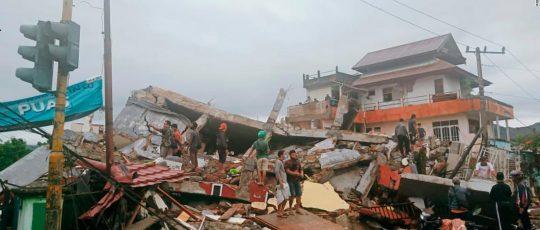 इन्डोनेसिया भूकम्प : ८०० घाइते, १५ हजार विस्थापित