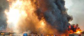 रोहिङ्ग्या शिविरमा भीषण आगलागी, १५ शरणार्थीको मृत्यु