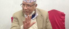 भ्याकेटमा जाने निर्णय गरेर ओलीले पार्टी एकता भंग गर्न खोजे : माधव नेपाल