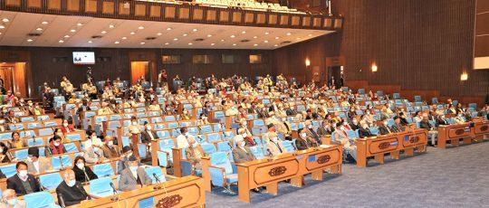 संसद बैठक १५ मिनेटका लागि स्थगित