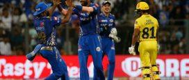 आईपिएलः मुम्बईलाई हराउँदै चेन्नाइ शीर्ष स्थानमा