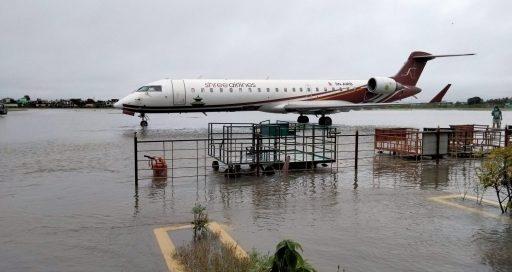 विराटनगरका अधिकांश क्षेत्र डुबानमा, विमानस्थल जलमग्न