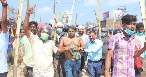 सीके राउतको पार्टीका कार्यकर्ताले कार्यालय प्रमुखलाई कालोमोसो दले अनि जनकपुर परिक्रमा गराए